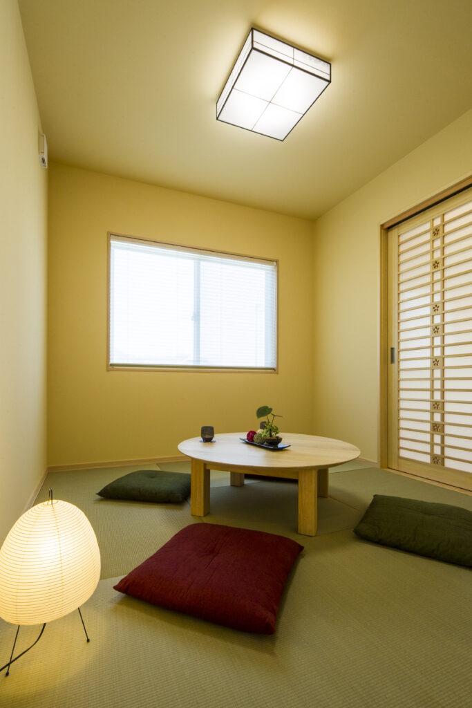 14畳のロフトを持つ、コンパクトな平屋